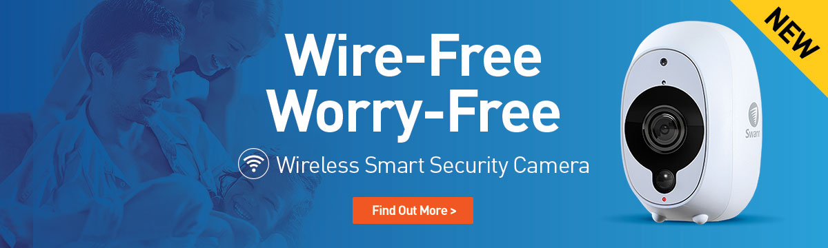 Wire-free, Worry-free. Swann Smart Security Camera