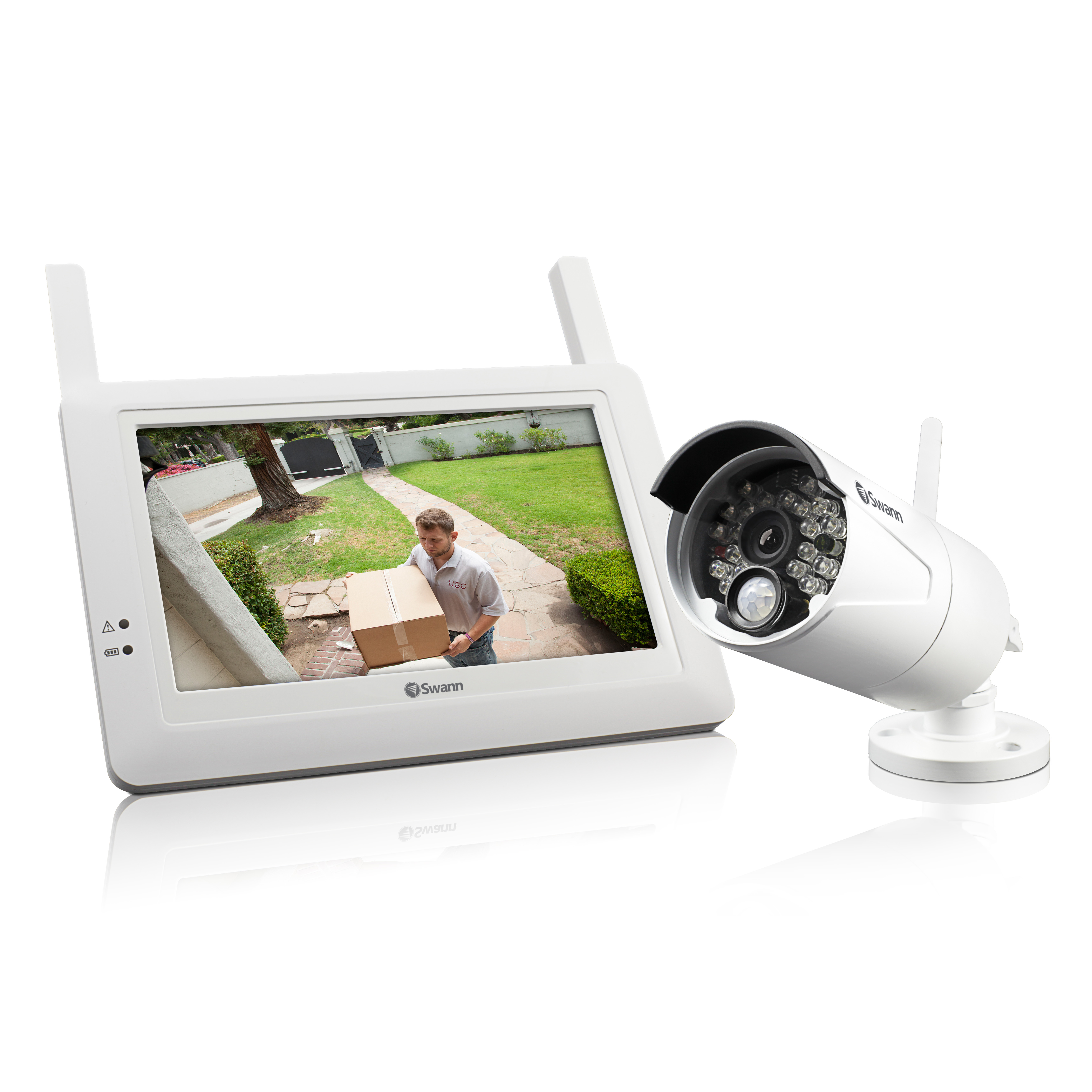 Adw 410 Wireless Security System Monitor And Camera Australia