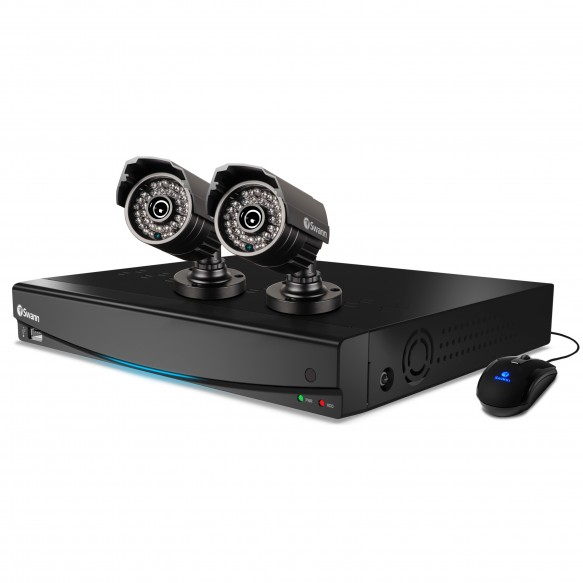 SWDVK-434252 DVR4-3425 4 Channel 960H Digital Video Recorder & 2 x PRO-735 Cameras -