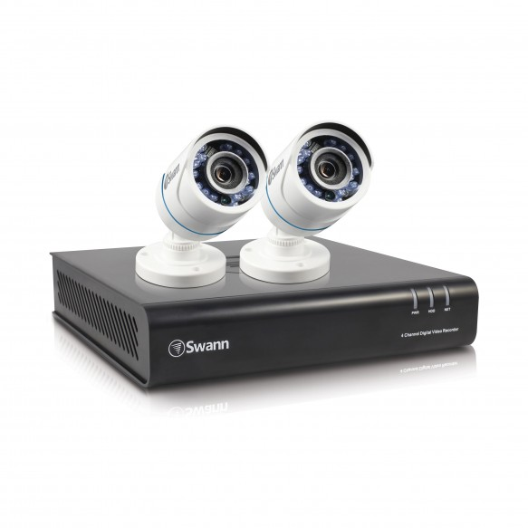 SWDVK-445002P DVR4-4500 4 Channel 1080p Digital Video Recorder & 2 x PRO-T850 Cameras -