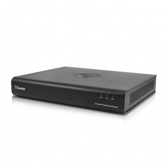 SRDVR-84500T DVR8-4500 8 Channel 1080p Digital Video Recorder with Smartphone Viewing -