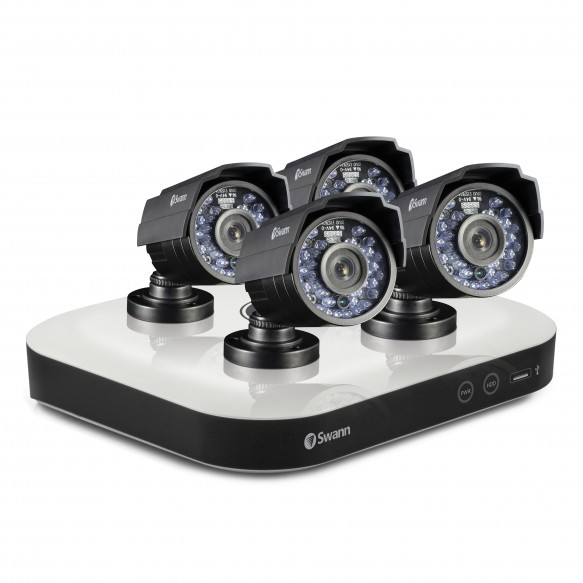 SWDSK-8500T4X DVR8-5000 - OneSmart Home Security System with 4 x PRO-810 Cameras -