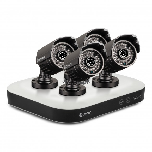 SWDSK-8500T4Y DVR8-5000 - OneSmart Home Security System with 4 x PRO-815 Cameras -