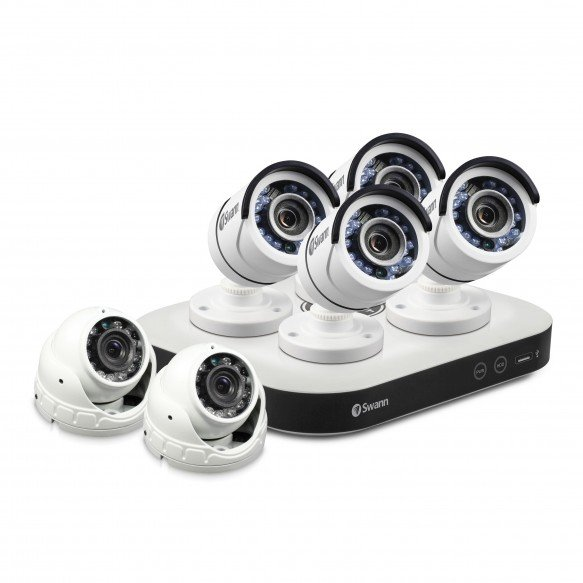 CODVK-810804D2 DVR8-5000 - Home Security System with 6 x Security Cameras -