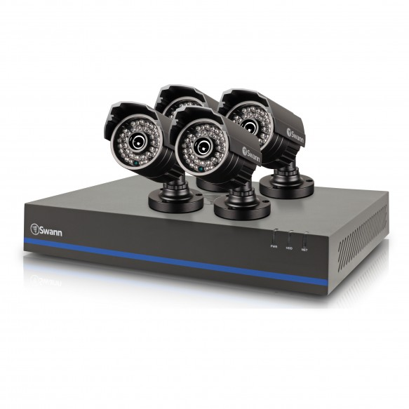 SWDVK-880754 DVR8-8075 - 8 Channel 1080p Digital Video Recorder & 4 x 1080p HD Cameras -