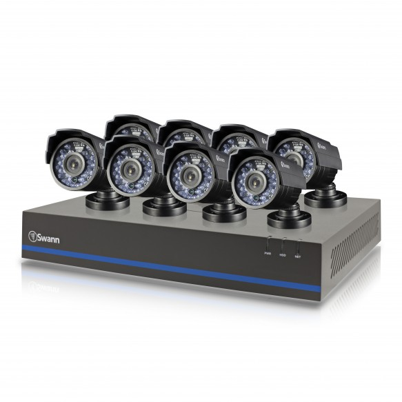 SWHDK-880508 HDK8-8050 - 8 Channel 720p Digital Video Recorder & 8 x SHD-810 Cameras -