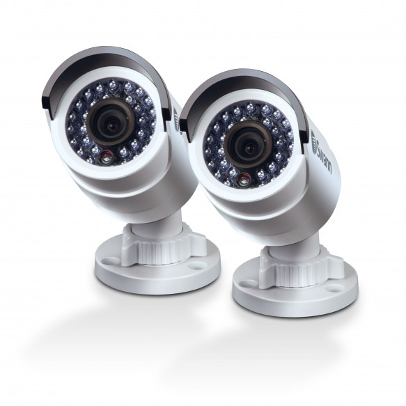 3MP Super HD Bullet Security Camera Twin Pack Bundle