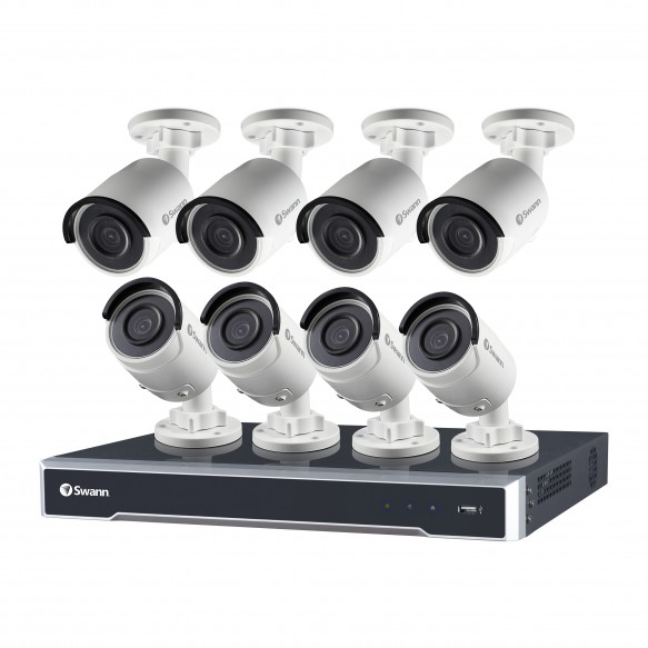 SWNVK-167508 NVR16-7500 16 Channel 5MP Super HD HD Network Video Recorder & 8 x NHD-850 5MP Cameras -