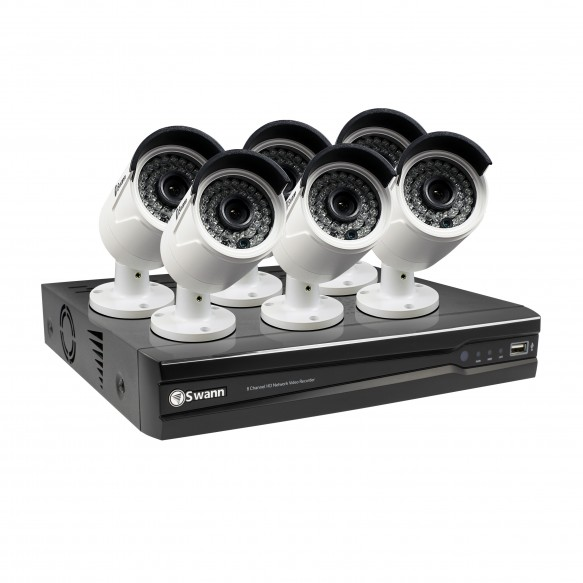 CONV8-A4MP6C 8 Channel 4MP Network Video Recorder & 6 x 4MP Cameras (Plain Box Packaging) (Discontinued)  -