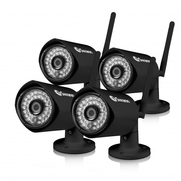 CONVW-1080WB4 GuardianEye - Wi-Fi Day/Night Extra Camera - 4 Pack Bundle (Plain Box Packaging) -