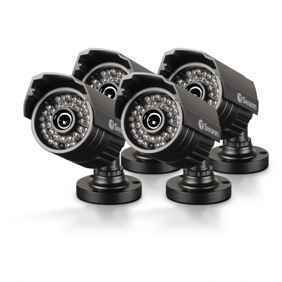 PRO-642 4 Pack - Multi-Purpose Day/Night Security Camera - Night Vision 85ft / 25m (Plain Box Packaging)