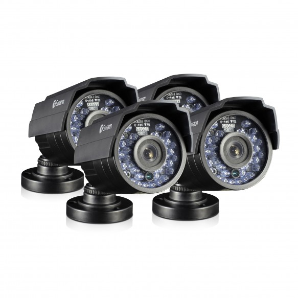 SRPRO-810AWB4 PRO-810 - 720p HD Bullet Security Camera 4 Pack Bundle (Plain Box Packaging) -