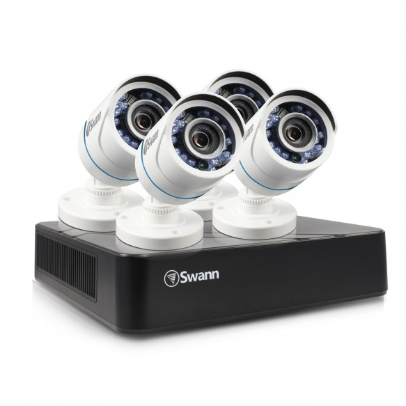 SODVK-8720P74 DVR8-1575 - 8 Channel 720p Digital Video Recorder with 4 x PRO-T845 Cameras (Plain Box Packaging) -