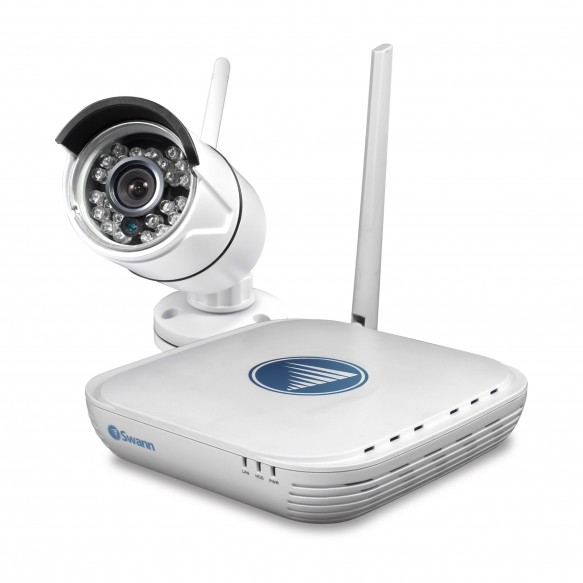 NVK-460 Wi-Fi Security Kit - Micro Monitoring System with 720p Day/Night Camera & Smartphone Connectivity