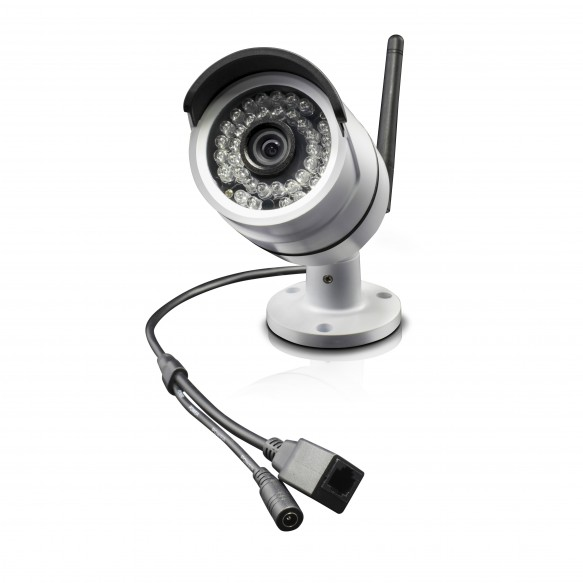 SRNVW-470WB1 NVW-470 All-in-One SwannSecure - Wi-Fi HD Monitoring Camera (Plain Box Packaging) -