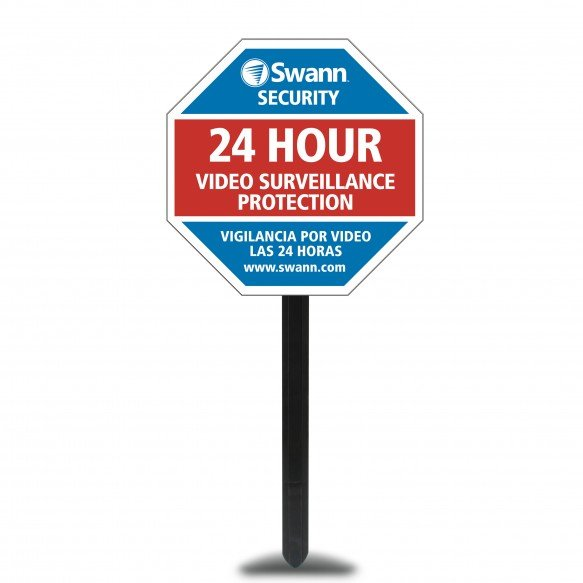 SW276-YSS Yard Stake - Security Deterrent & Warning Sign -