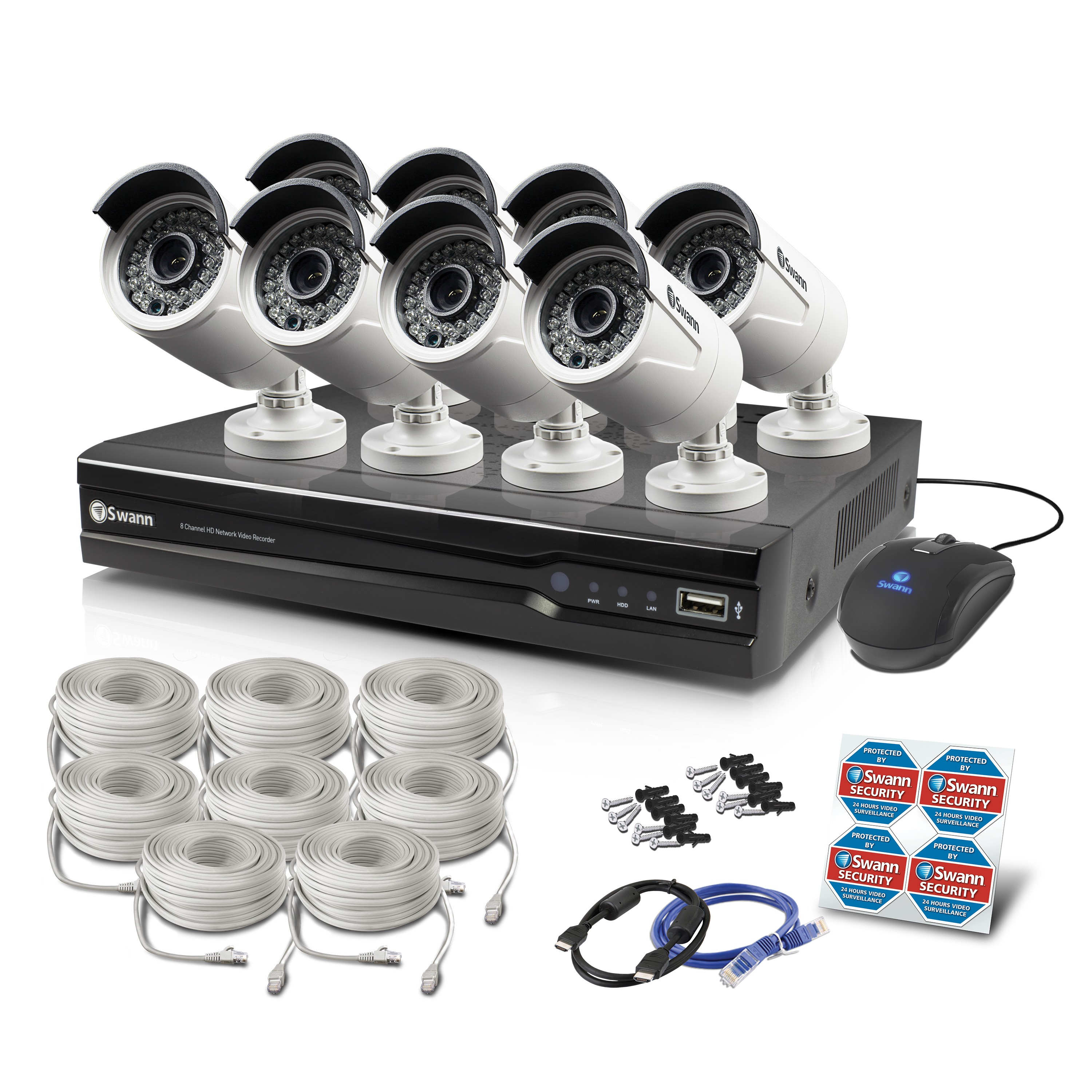 Nvr8 7300 8 Channel Home Security Systems Hd Camera Usa Video Diagram Labeled Chapter 4 The