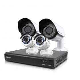 DVR8-4500 8 Channel 1080p Digital Video Recorder with 2 x PRO-T855 Cameras & 2 x AF Cameras