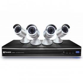8 Channel 3MP NVR Security System with 2TB HDD and 4 x 3 Megapixel Cameras