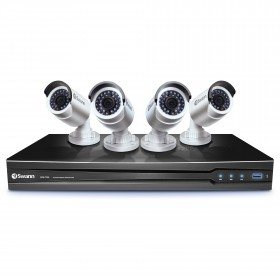 8 Channel HD NVR Security System with 4 x 3MP HD Cameras