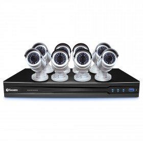 8 Channel HD NVR Security System with 8 x 3MP HD Cameras (Discontinued)