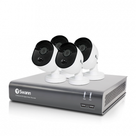 4 Channel 1080p Full HD DVR Security System