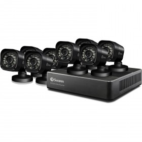 DVR8-1590 - 8 Channel 720p Digital Video Recorder & 8 x PRO-T835 Cameras