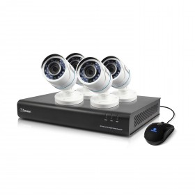 DVR8-4350 8 Channel 720p Digital Video Recorder with 4 x PRO-T845 Cameras
