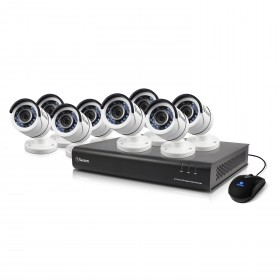 8 Channel 1080p Digital Video Recorder with 8 x 1080p Cameras