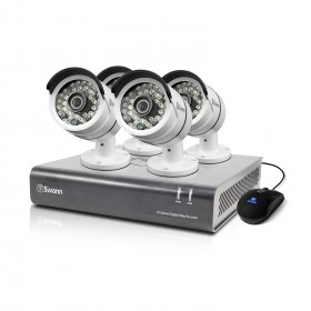 DVR8-4600 - 8 Channel 1080p Digital Video Recorder & 4 x PRO-A855 Cameras