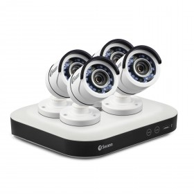 DVR8-5000 - Home Security System with 4 x Security Cameras