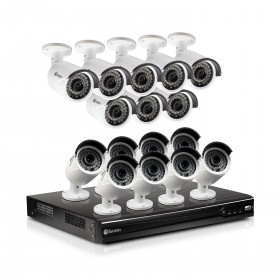 16 Channel 4MP HD NVR Security System with 16 x 4MP HD Cameras