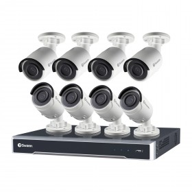 NVR16-7500 16 Channel 5MP Super HD HD Network Video Recorder & 8 x NHD-850 5MP Cameras