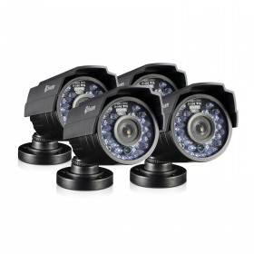 PRO-810 - 720p HD Bullet Security Camera 4 Pack Bundle (Plain Box Packaging)