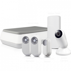 Home Alarm & Video Security Starter Kit