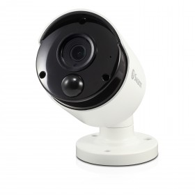 Swann Thermal Sensing PIR Security Camera: 5MP Super HD Bullet with IR Night Vision - NHD-865MSB