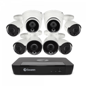 CONV8-85806B2D 8 Camera 8 Channel 4K Ultra HD NVR Security System -