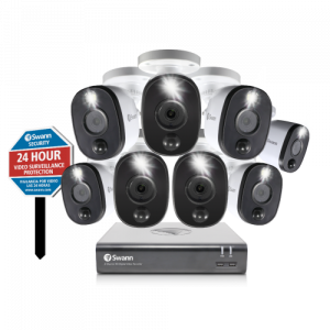 SODVK-845808WLY-US 8 Camera 8 Channel 1080p Full HD DVR Security System -
