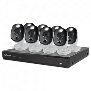 SWDVK-1655808WL 8 Camera 16 Channel 4K Ultra HD DVR Security System -