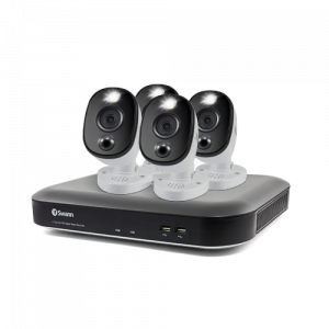 SWDVK-455804WL 4 Camera 4 Channel 4K Ultra HD DVR Security System -