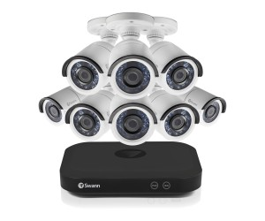 Swann 8 Channel Security System: 5MP Super HD DVR with 2TB HDD & 8 x 5MP Bullet Cameras