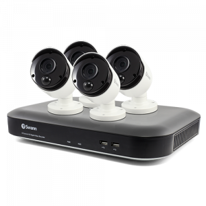 SWDVK-849804 4 Camera 8 Channel 5MP Super HD DVR Security System  -