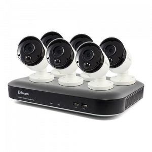 SODVK-849806 6 Camera 8 Channel 5MP Super HD DVR Security System -