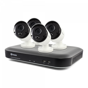 SWDVK-455804 4 Camera 4 Channel 4K Ultra HD DVR Security System -