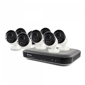 SWDVK-855808 8 Camera 8 Channel 4K Ultra HD DVR Security System   -