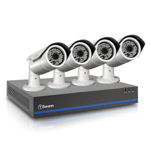 HDK8-8050 8 channel 720p HD security camera system with 8 x SHD-820 HD security camera view 2