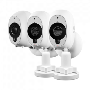 SWWHD-INTCM2STPK3 Wire-Free Smart Security Camera-3 Pack -