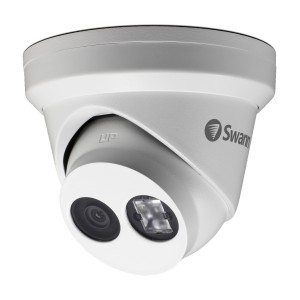 Swann 4K Ultra HD Dome Outdoor Security Camera with EXIR LED IR Night Vision - NHD-881