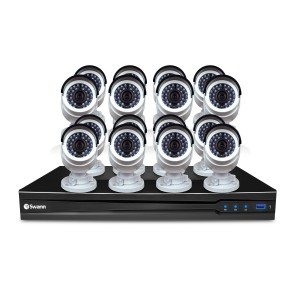 SONVK-1670916 NVR16-7095 16 Channel 3MP Network Video Recorder with 16 x NHD-835 3MP Bullet IP Cameras -