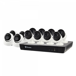 SONVK-1685808B4D 12 Camera 16 Channel 4K Ultra HD NVR Security System -